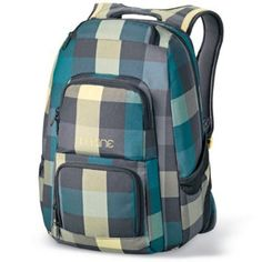 DAKINE Rucksack Jewel Pack, Devin Checks / Yellow, 48x30x23cm, 8210-010: Amazon.de: Sport & Freizeit
