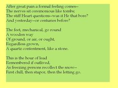 good stuff by Emily Dickenson Famous Poems, Feeling Broken, Emily Dickinson, Edgar Allan Poe, Favorite Words, Book Nooks, Powerful Words, Talk To Me, Authors