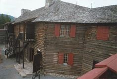 Barracks at Fort William Henry (by Mohican Press).