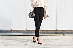 Ruffle pants Volant Outfit