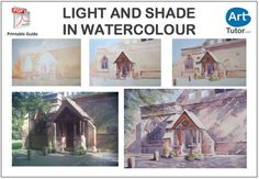 Make the most of your darks and lights in watercolour by placing them next to each other. Find out more in Karl Fletcher's step-by-step guide. #watercolour