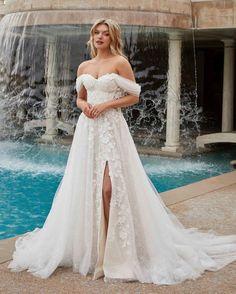 15 Awesome Strapless Wedding Dresses For Every Bride ❤ strapless wedding dresses off the shoulder lace casablanca #weddingforward #wedding #bride #weddingoutfit #bridaloutfit #weddinggown