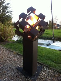 Square up, dutch stove or outside fire pit www.tuinhaard.com