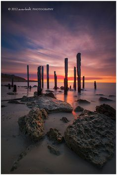 Port Willunga, South Australia Distant Fire by Dee-T Places Around The World, The Places Youll Go, Places To See, Tasmania, Beautiful World, Beautiful Places, Landscape Photography, Photography Ideas, Nature Photography