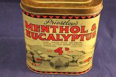 Priestleys Menthol And Eucalyptus Tin