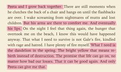 Mockingjay by Suzanne Collins - I rather enjoyed the ending of this series :)