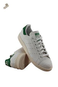 Adidas stan smith (rotta di pelle bianca / marina), 9 b, noi