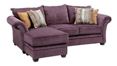 Quimby Collection - Plum Sofa Chaise