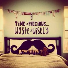 time is precious... waste it wisely <3