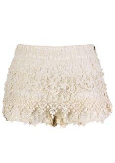Beloved Crochet Shorts