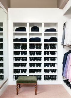 Looking for extra storage for your many black pairs of shoes? Ben Soleimani's Beverly Hills home has the perfect solution.