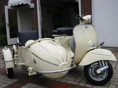 Vespa Sprint Scooter  dieselpunks.org  I could see me and my grandaughter on this baby!!!