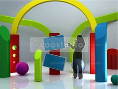 virtual set Kids volume 2 Tv Decor, Bookends, Communication, Studio, Kids, Inspiration, Crafts, Projects, Biblical Inspiration
