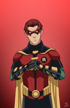 Robin 2.0 (Jason Todd) commission by phil-cho.deviantart.com on @DeviantArt