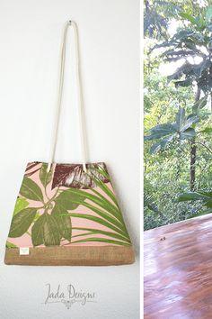 Tasche / Strandtasche / Sporttasche / Yogatasche / Shopper mit Innenfutter von byJadaDesigns auf Etsy
