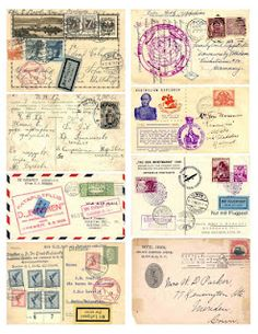 She loves the idea of finding old love letters and postcards