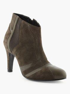 Boots En Cuir Cj Jourdan - La Halle