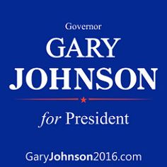Governor Gary Johnson for President  - garyjohnson2016.com