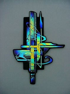 Laurel Yourkowski Studio - Fused dichroic glass wall sculpture approximately x Blue / Aqua / Green Fused Glass Jewelry, Fused Glass Art, Stained Glass Art, Dichroic Glass, Art Of Glass, Glass Artwork, Glass Wall Art, Glass Ceramic, Mosaic Glass