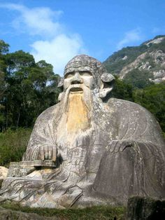 Statue de Lao Tseu (la plus grande et ancienne de Chine) – Quanzhou, Province du Fujian (Chine) – Crédit Photo : Dominique Lapierre via Flickr