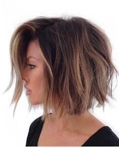 Balayage Short Bob Frisuren & Haarschnitte für 2018 & Balayage Bob Hair - Trend Frisurende