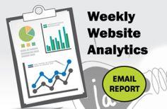 Weekly Website Analytics Google Analytics, Your Email, Improve Yourself, Website