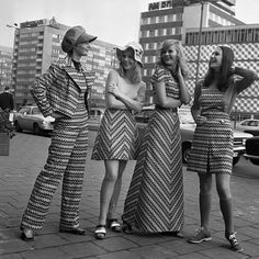 70's Fashion | strives and chevron