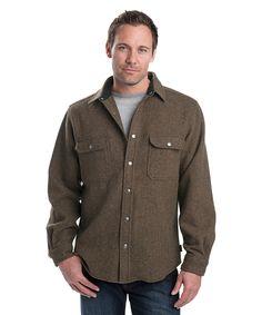 Men's Alaskan Wool Shirt by WOOLRICH® The Original Outdoor Clothing Company