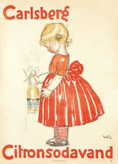 Carlsberg Citronsodavand (1908). Valdemar Andersen