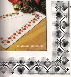 Gallery.ru / Фото #28 - rtyu - ergoxeiro Wedding Cross Stitch, Xmas Cross Stitch, Cross Stitch Heart, Cross Stitch Borders, Cross Stitch Alphabet, Cross Stitch Flowers, Cross Stitch Designs, Cross Stitching, Cross Stitch Embroidery