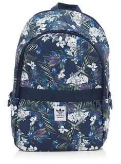 7dcc7e54af adidas Originals Classic Flowers Backpack ( 46) ❤ liked on Polyvore ...