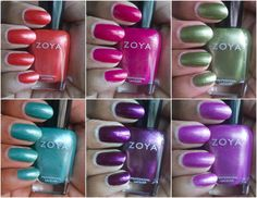Zoya Surf collection - from Spring 2012