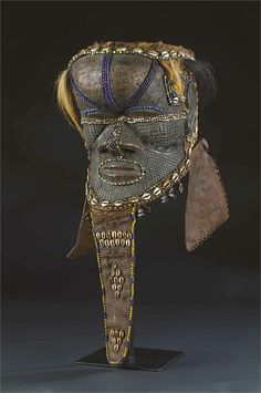 Kuba Bwoom Helmet Mask, DR Congo http://www.imodara.com/item/dr-congo-kuba-bwoom-commoner-mask/