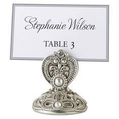 Royal Elegance Placecard Holders | 4 ct