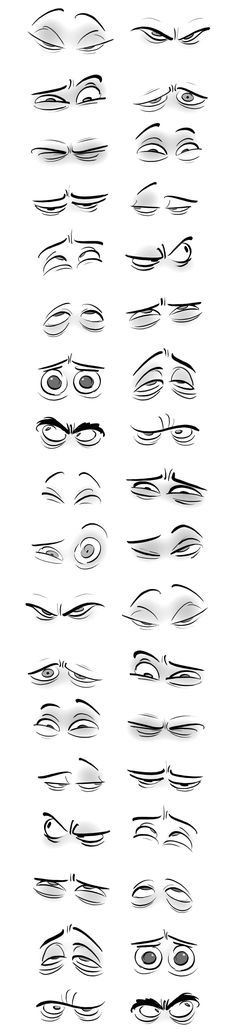 38 Ideas Drawing Faces Animation Cartoon Eyes For 2019 Drawing Lessons, Drawing Poses, Drawing Techniques, Drawing Tips, Drawing Ideas, Sketch Drawing, Drawing Art, Cartoon Eyes, Cartoon Drawings