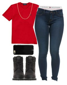 """""""Peso - A$AP Rocky"""" by versaceshawty ❤ liked on Polyvore featuring Fremada, Tommy Hilfiger, Timberland and Sonix"""