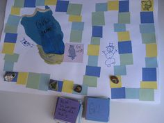 homemade board game, camp gvl