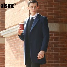 Tag a friend who would love this!|    Fresh arriving Aismz Winter Men's Woolen Jackets Turn-down Collar Men Long Wool Coat Fashion Wool & Blends Casual Male Casaco Masculino F40 now available for purchase $US $159.00 with free postage  there are various this specific piece as well as even more at our favorite online shop      Have it today on this site…
