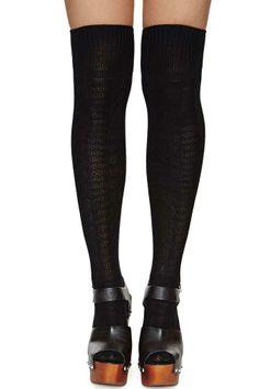 Elizabeth Thigh High Socks