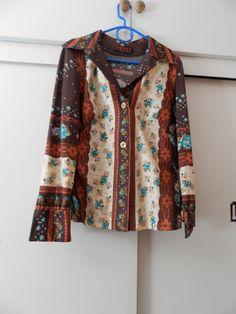 Camisa años 70. Talla L. 11,95 +`gastos de envío.