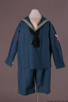 Boy's Suit  1923-1927  The Henry Ford Costume Collection