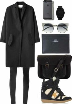 26617017602 Monochrome is still very much in style and on trend.- Check out this all  black outfit