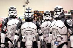 Clone Troopers, via Flickr.