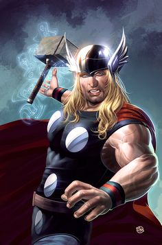 The mighty Thor by Rennee on DeviantArt