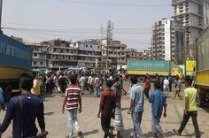 পরিবহন শ্রমিকদের কর্মবিরতির দ্বিতীয় দিনে অচল চট্টগ্রাম, বাড়ছে জনদুর্ভোগ - http://paathok.news/19276