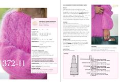 Jackie Genseren med dobbel tråd! Knitting, Shopping, Diy, Pink, Threading, Tricot, Bricolage, Breien, Stricken