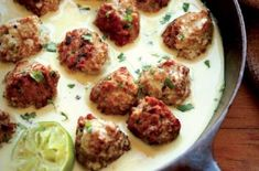 The bright and bold flavors of Thailand come together in this delicious meatball recipe from cookbook author and meat connoisseur Bruce Aidells. These turkey meatballs are simply bursting with flavor and they're easy to make any night of the week. F