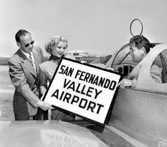 Metropolitan Airport is renamed San Fernando Valley Airport in 1950 :: San Fernando Valley History