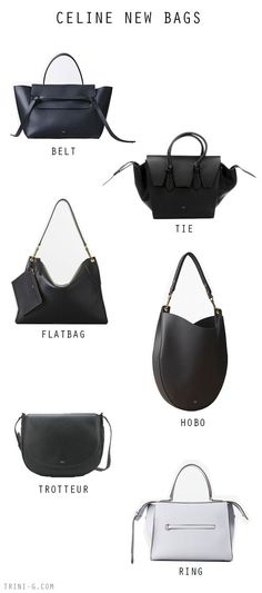 Trini blog | Celine newer bags - ladies leather bags, black bag women, discount designer bags *ad