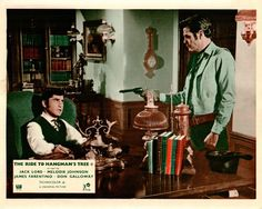 The Ride To Hangman's Tree Original Lobby Card Jack Lord James Farentino Gun